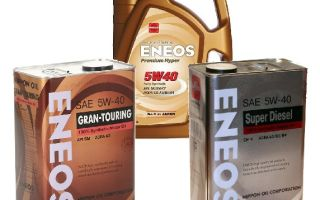 Моторное масло eneos 5w40