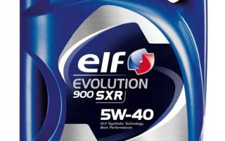 Преимущества и характеристики масла elf evolution 900 sxr 5w40