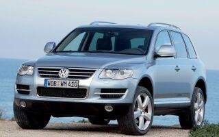 Моторное масло в раздатке, редукторе и мостах Volkswagen Touareg