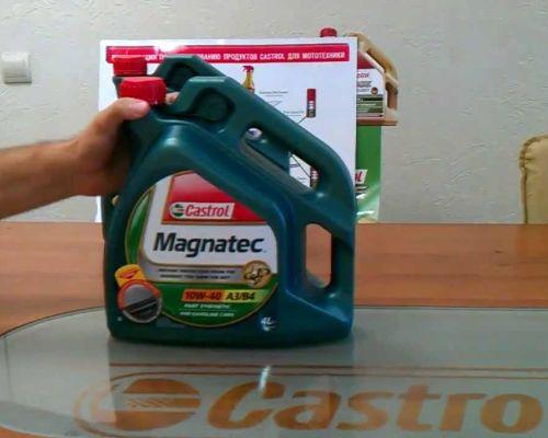 Castrol Magnatec 10w40 – надежная полусинтетика для вашего авто