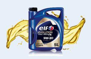 Масло французского производства Elf evolution full tech fe 5w 30
